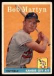 1958 Topps #39  Bob Martyn  Front Thumbnail