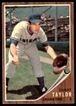1962 Topps #274  Sammy Taylor  Front Thumbnail