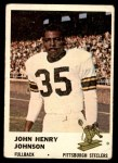 1961 Fleer #118  John Henry Johnson  Front Thumbnail