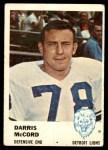 1961 Fleer #87  Darris McCord  Front Thumbnail