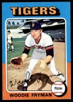 1975 Topps #166  Woodie Fryman  Front Thumbnail