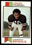 1973 Topps #315  Lemar Parrish  Front Thumbnail