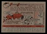 1958 Topps #416  Foster Castleman  Back Thumbnail
