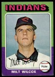 1975 Topps #14  Milt Wilcox  Front Thumbnail