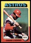 1975 Topps #590  Cesar Cedeno  Front Thumbnail