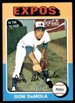 1975 Topps #391  Don DeMola  Front Thumbnail