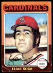 1975 Topps #398  Elias Sosa  Front Thumbnail