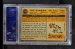 1960 Topps #512  Joe Gibbon  Back Thumbnail