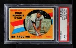 1960 Topps #141   -  Jim Proctor Rookie Star Front Thumbnail