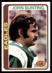 1978 Topps #319  John Bunting  Front Thumbnail