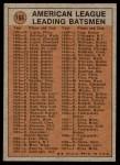 1972 Topps #166   -  Chris Speier In Action Back Thumbnail
