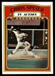 1972 Topps #166   -  Chris Speier In Action Front Thumbnail