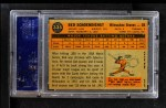 1960 Topps #335  Red Schoendienst  Back Thumbnail