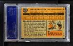 1960 Topps #316  Willie McCovey  Back Thumbnail