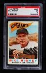 1960 Topps #225  Bill Rigney  Front Thumbnail