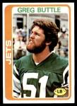 1978 Topps #382  Greg Buttle  Front Thumbnail