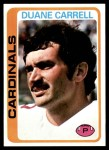 1978 Topps #324  Duane Carrell  Front Thumbnail