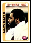 1978 Topps #429  Ed Too Tall Jones  Front Thumbnail