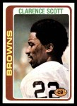1978 Topps #433  Clarence Scott  Front Thumbnail