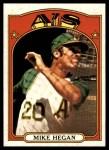 1972 Topps #632  Mike Hegan  Front Thumbnail
