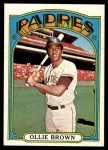 1972 Topps #551  Ollie Brown  Front Thumbnail