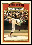 1972 Topps #558   -  Blue Moon Odom In Action Front Thumbnail