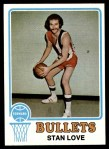 1973 Topps #76  Stan Love  Front Thumbnail