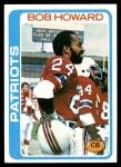 1978 Topps #321  Bob Howard  Front Thumbnail