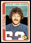 1978 Topps #372  Doug Van Horn  Front Thumbnail