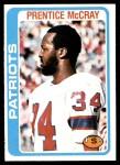 1978 Topps #421  Prentice McCray  Front Thumbnail