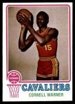 1973 Topps #12  Cornell Warner  Front Thumbnail