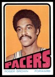1972 Topps #210  Roger Brown   Front Thumbnail