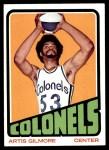 1972 Topps #180  Artis Gilmore   Front Thumbnail