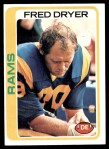 1978 Topps #366  Fred Dryer  Front Thumbnail