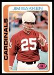 1978 Topps #347  Jim Bakken  Front Thumbnail