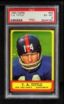 1963 Topps #49  Y.A. Tittle  Front Thumbnail