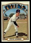 1972 Topps #678  Steve Luebber  Front Thumbnail