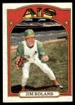 1972 Topps #464  Jim Roland  Front Thumbnail