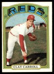 1972 Topps #311  Clay Carroll  Front Thumbnail