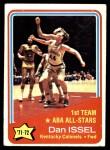 1972 Topps #249   -  Dan Issel  ABA All-Star - 1st Team Front Thumbnail