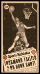 1970 Topps #111   -  Nate Thurmond  All-Star Back Thumbnail