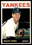 1964 Topps #458  Ralph Terry  Front Thumbnail