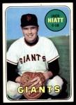 1969 Topps #204  Jack Hiatt  Front Thumbnail