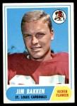 1968 Topps #8  Jim Bakken  Front Thumbnail