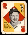 1951 Topps Red Back #15  Ralph Kiner  Front Thumbnail