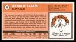 1970 Topps #73  Herm Gilliam   Back Thumbnail