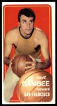 1970 Topps #154  Dave Gambee   Front Thumbnail