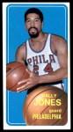 1970 Topps #83  Wally Jones   Front Thumbnail