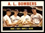 1964 Topps #331   -  Mickey Mantle / Al Kaline / Roger Maris / Norm Cash AL Bombers Front Thumbnail
