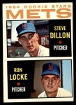 1964 Topps #556   -  Steve Dilion / Ron Locke Mets Rookies Front Thumbnail